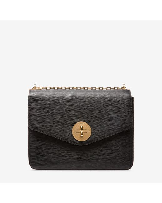 Bally | Black B Turn Minibag Medium | Lyst