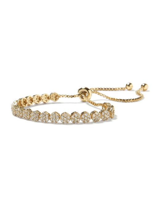 Banana Republic - Metallic Sparkle Circle Bracelet - Lyst