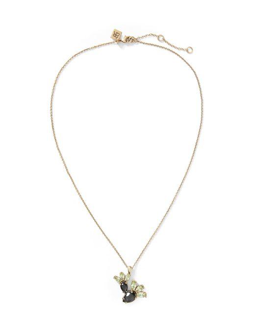 Banana Republic - Metallic Jeweled Cactus Pendant Necklace - Lyst