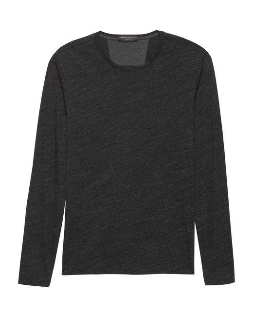 Banana Republic Factory - Black Moisture Wicking T Shirt for Men - Lyst
