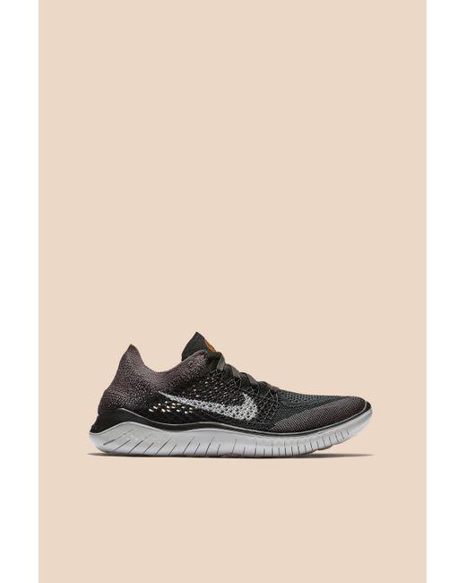 d64fa5c29676 Nike - Black Free Rn Flyknit 2018 - Lyst ...