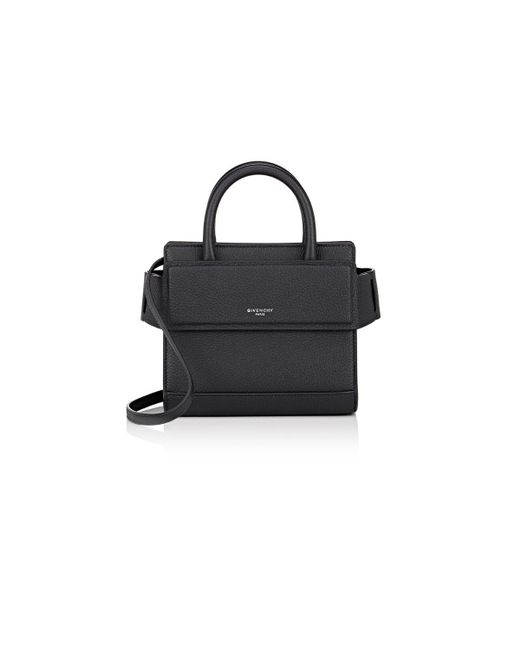 Givenchy | Black Horizon Nano Leather Cross-Body Bag | Lyst