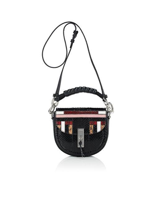 Altuzarra - Black Ghianda Saddle Bag - Lyst