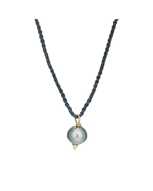 Feathered Soul - Metallic #tahitian5 Pendant Necklace for Men - Lyst