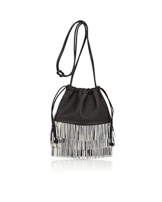 Alexander Wang - Black Ryan Mini Leather Dust Bag - Lyst