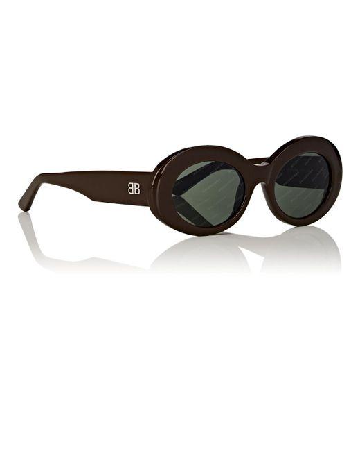 7fc3aa13172 ... Balenciaga - Brown Ba145 Sunglasses - Lyst ...