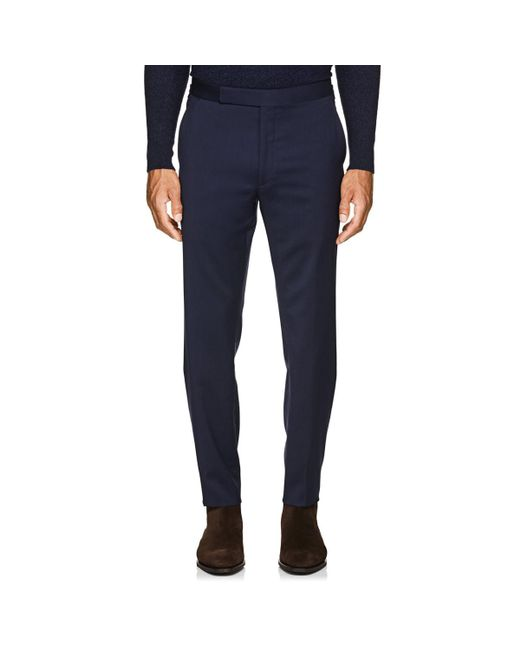 5bcbb29ba0a5 ... Ralph Lauren Purple Label - Blue Douglas Wool Two-button Suit for Men -  Lyst ...
