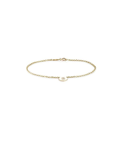 Jennifer Meyer - Multicolor Initial s Disc Bracelet - Lyst