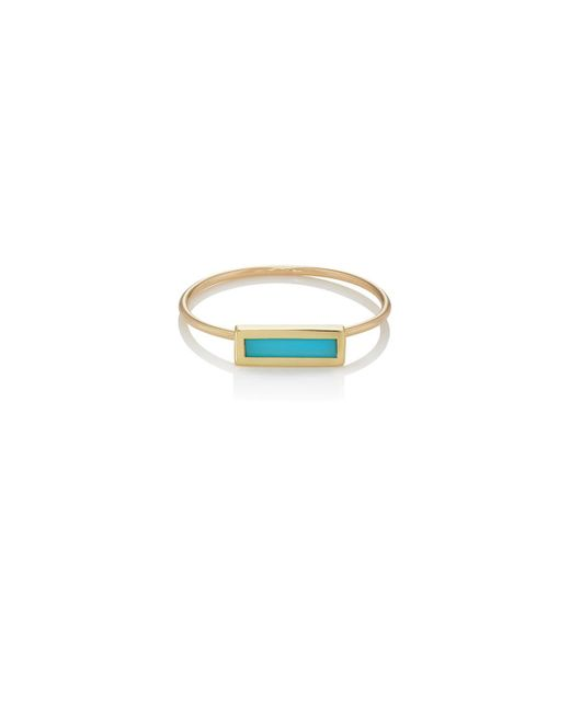 Jennifer Meyer - Multicolor Short Bar Ring - Lyst