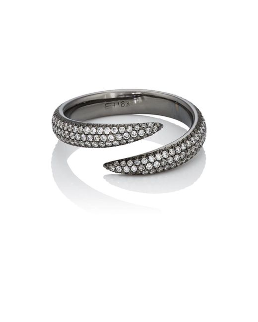 Eva Fehren | Metallic Claw Wrap Ring | Lyst