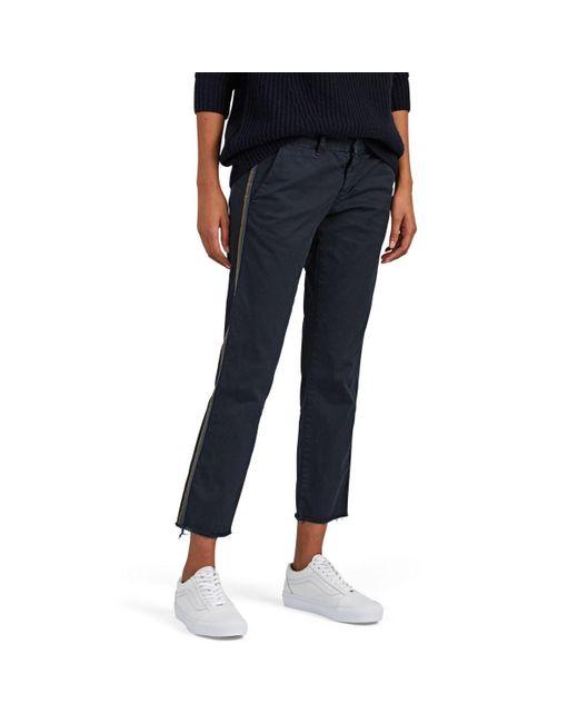 Nili Lotan - Blue East Hampton Cotton Pants - Lyst