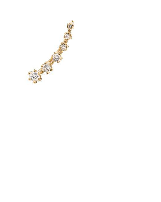 Sara Weinstock - Metallic 6-diamond Ear Wire - Lyst