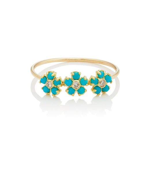 Jennifer Meyer   Blue Flower   Lyst
