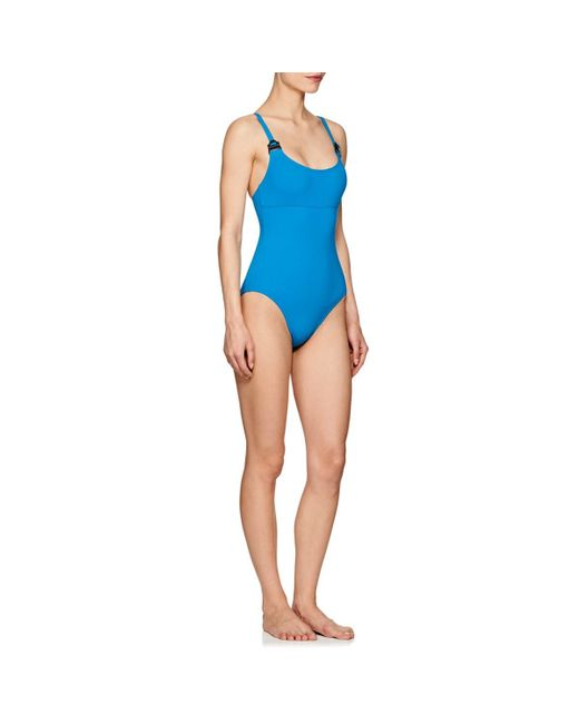 0168d635a7 ... Eres - Blue Edge Set Up One-piece Swimsuit - Lyst ...