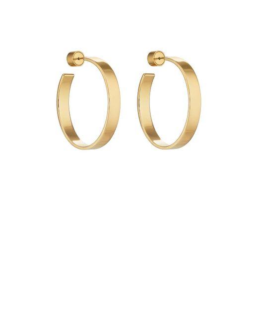 Jennifer Fisher | Metallic Kate Hoop Earrings | Lyst