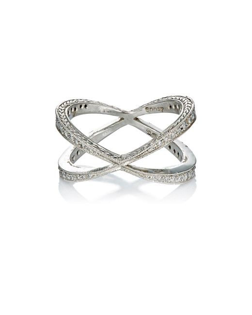 Cathy Waterman | Multicolor Infinity Ring | Lyst