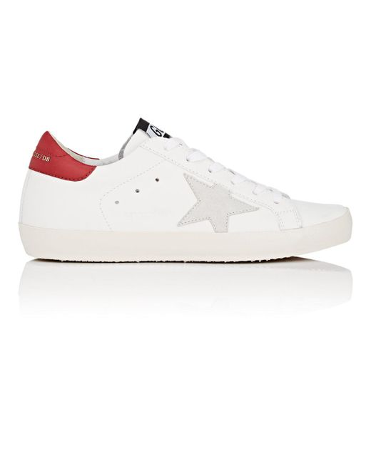 Golden Goose Deluxe Brand - White Superstar Leather Sneakers - Lyst