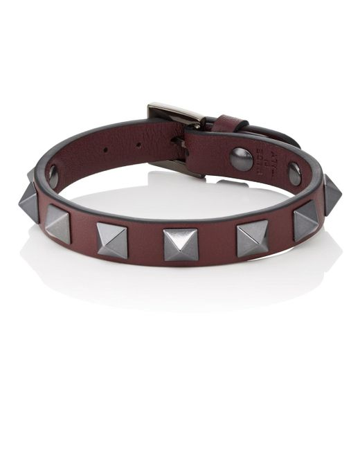 Valentino - Multicolor Rockstud Bracelet for Men - Lyst