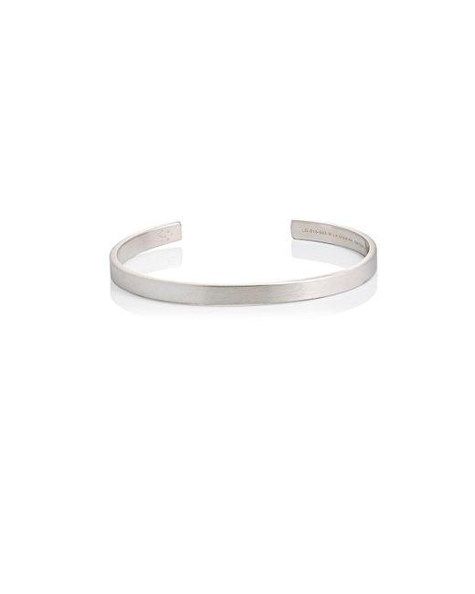 Le Gramme - Metallic Le 15 Cuff for Men - Lyst