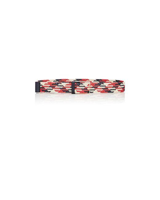 Maison Boinet | Red Braided Cotton Belt | Lyst