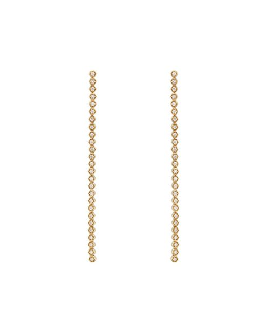 Sara Weinstock - Metallic Isadora Hexagon Drop Earrings - Lyst