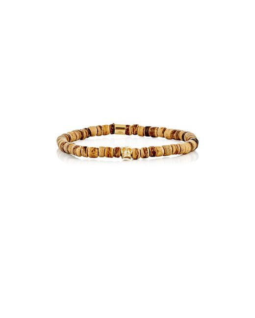 Emanuele Bicocchi | Brown Beaded Bracelet for Men | Lyst
