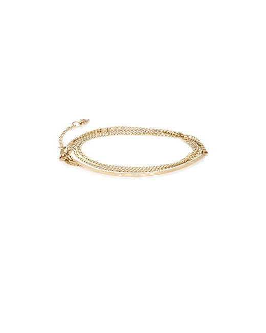 Loren Stewart - Metallic Hemingway Wrap Bracelet - Lyst