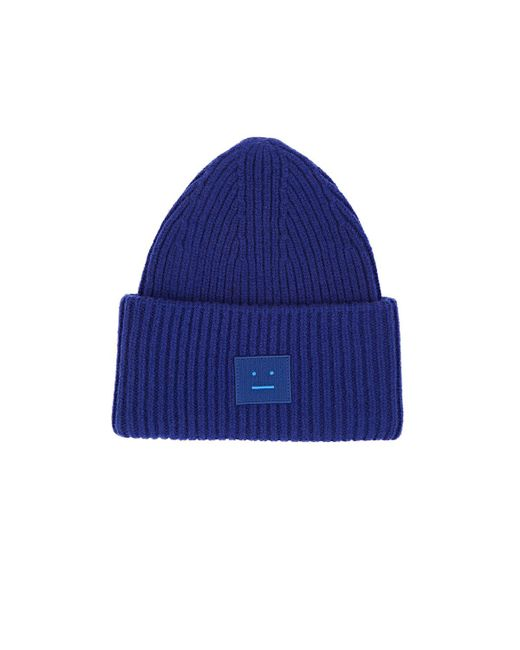 Acne | Blue Pansy Wool for Men | Lyst