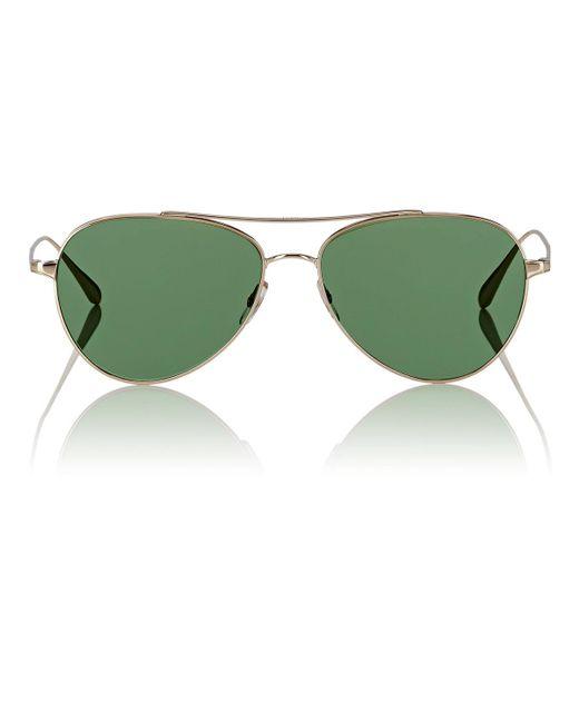 Garrett Leight - Green Culver Sunglasses - Lyst