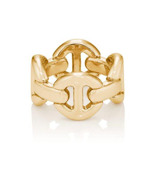 Hoorsenbuhs - Metallic Quad Link Ring - Lyst