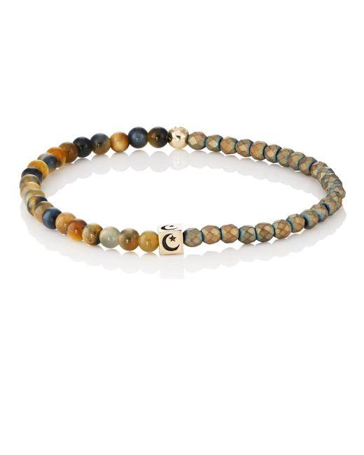Luis Morais - Metallic Beaded Bracelet for Men - Lyst