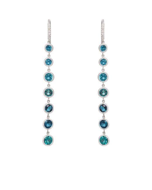 Finn - Metallic Tourmaline Cascade Earrings - Lyst