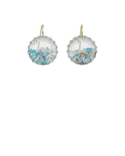 Renee Lewis | Blue Shake Drop Earrings | Lyst