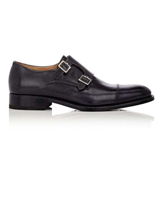 Harris | Black Double-monk-strap Shoes for Men | Lyst