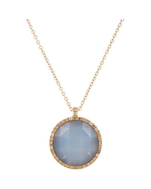 Roberto Marroni | Blue Gemstone Pendant Necklace | Lyst