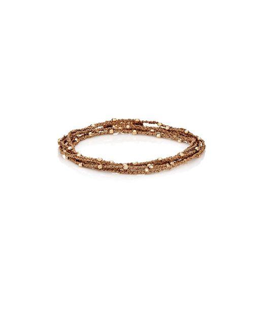 Feathered Soul - Metallic #sun Wrap Bracelet for Men - Lyst