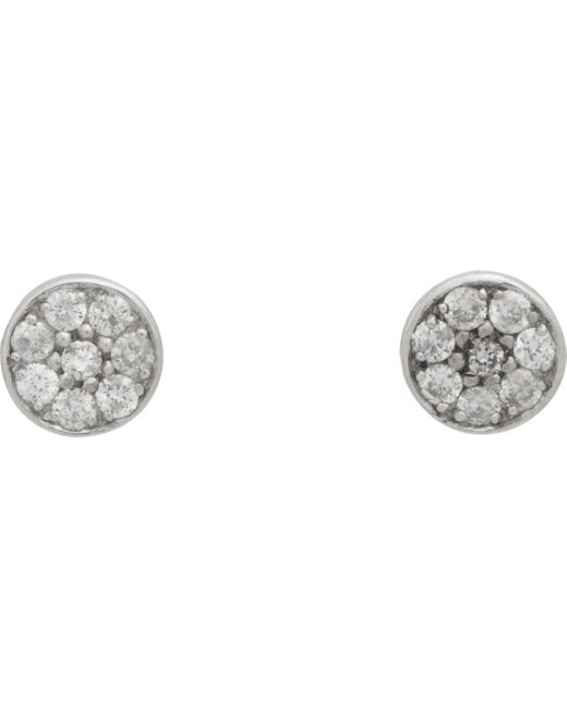 Jennifer Meyer | Metallic Circular Studs | Lyst