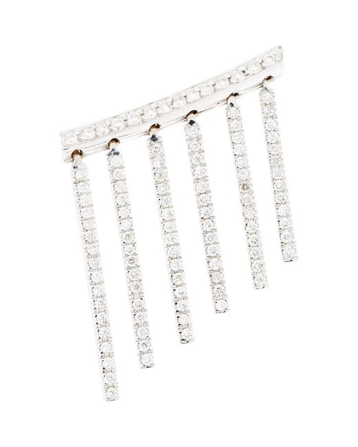 Ileana Makri | Diamond & White Gold Curtain Earring Size Na | Lyst