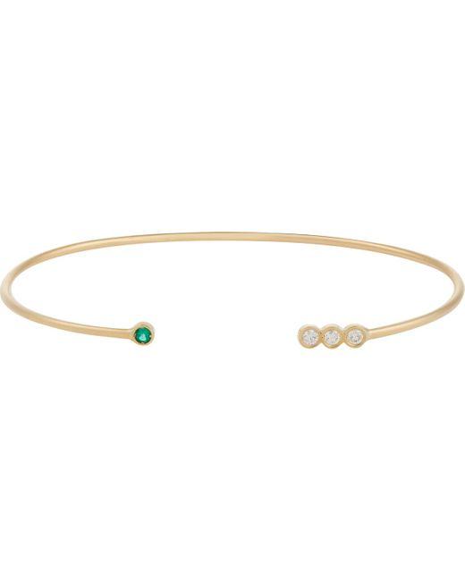 Jennie Kwon | Multicolor Gemstone Wire Cuff | Lyst