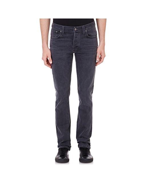 Nudie Jeans | Black Slim Jim for Men | Lyst