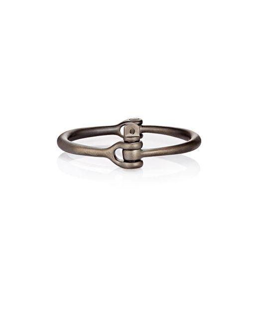 Miansai | Black Reeve Cuff Bracelet for Men | Lyst