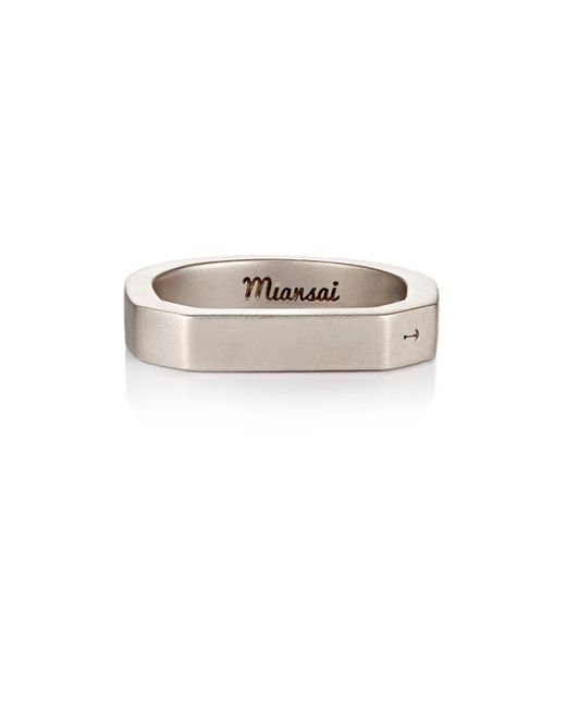 Miansai | Metallic Hex Ring for Men | Lyst