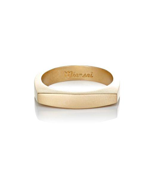 Miansai | Metallic Top Ring for Men | Lyst