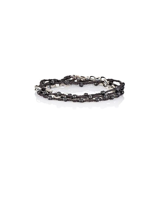 Feathered Soul | Black Cedar Wrap Bracelet | Lyst