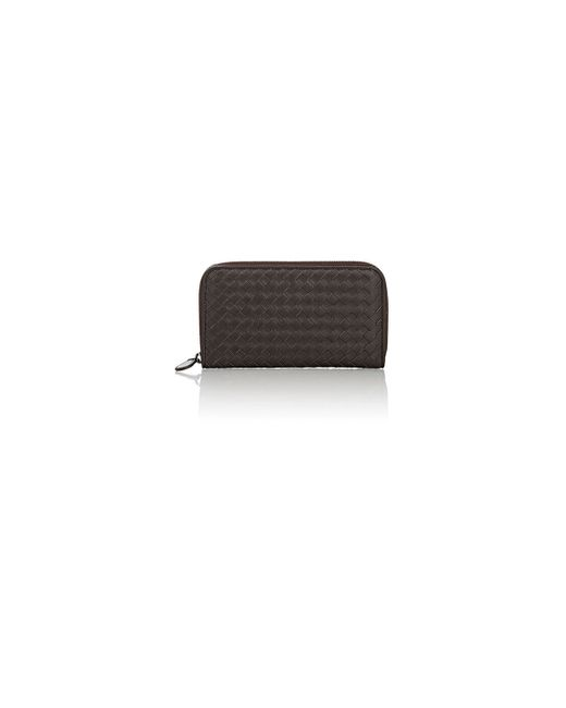 Bottega Veneta | Brown Zip-around Continental Wallet | Lyst