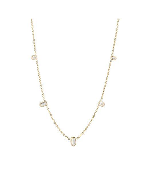 Finn | Metallic Bullet Diamond Necklace | Lyst