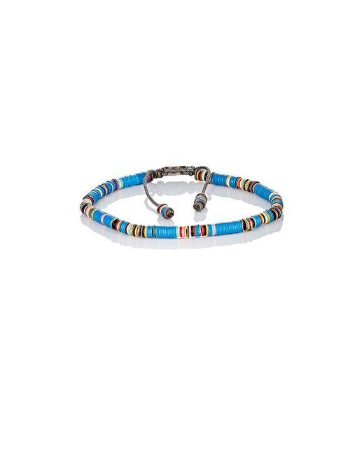 M. Cohen | Blue Rondelle Bracelet | Lyst