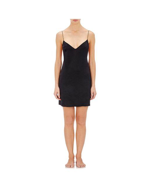 Kiki de Montparnasse | Black Amour Silk Slip | Lyst
