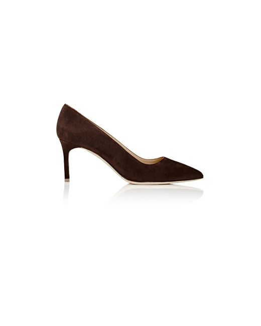 Manolo Blahnik | Brown Bb Pumps | Lyst