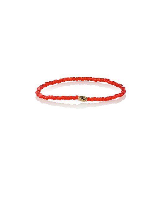Luis Morais | Metallic Horus Eye Etched-bead Bracelet | Lyst